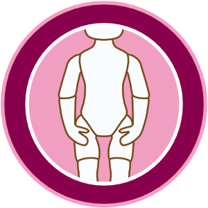 multi-joint standing doll