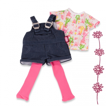 Denim Dungarees Set size XL