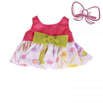 Top with bow size XXS