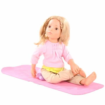 Sun salutation yoga set