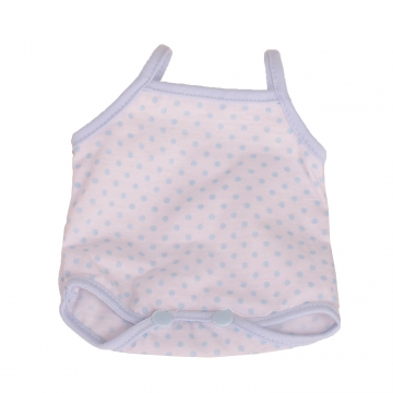 Bodysuit Dots blue size M