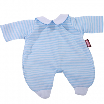 Romper suit blue stripes size L