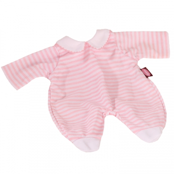 Romper suit pink striped size S
