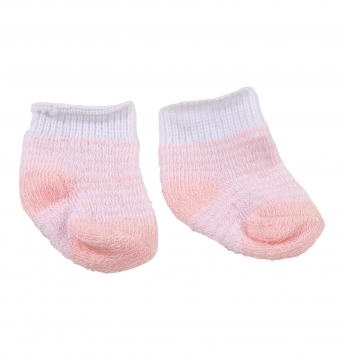 Socks pink striped size S/M/L/XL