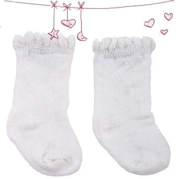 Stockings Classic White size M/XL