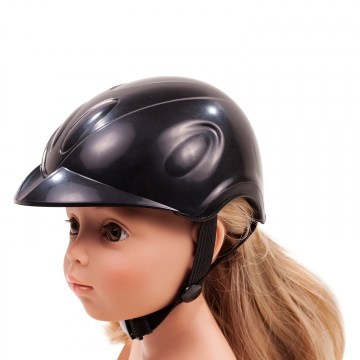 Equestrian Helmet Black Beauty