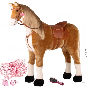 Seat Horse Brown Lightning