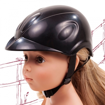 Riding helmet Black Beauty size M/XL