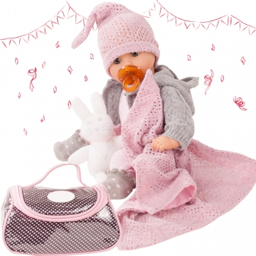 Large Baby Set Cosy Rabbit
