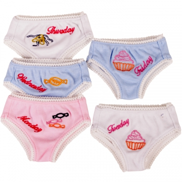 Underpants 5-days-a-week