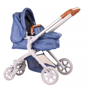 Puppenwagen 2 in 1 Denim