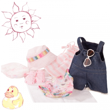 Babyset Splish Splash Gr. M