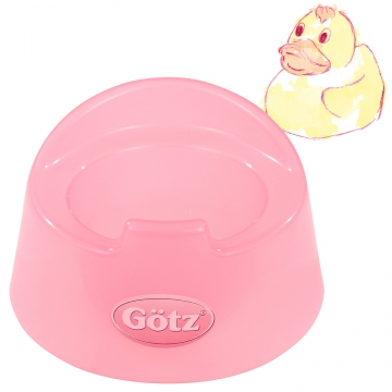 Potty transparent pink