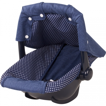 Baby Carrier Denim & Spots