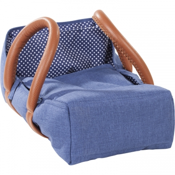 Travel Cot Denim