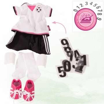 Set Soccer Girl Gr. XL