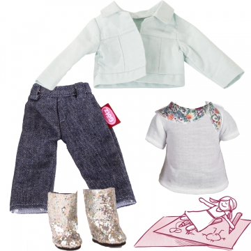 Set Denim & Glamour Gr. XS