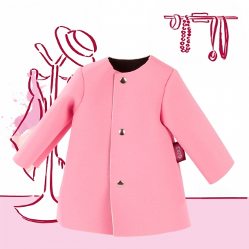 Coat pink size M/XL