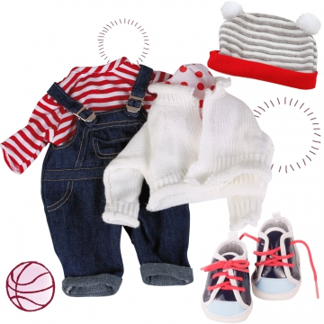 Set Winter Red-White size M