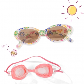 Glasses set Pool size S/M/XL