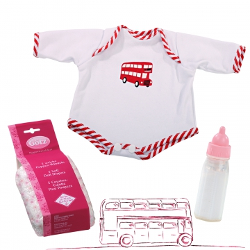 Set London Bus size M