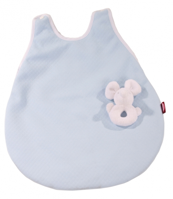 Sleeping bag with cuddly mouse rose