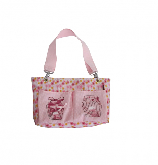Happy flower nappy bag