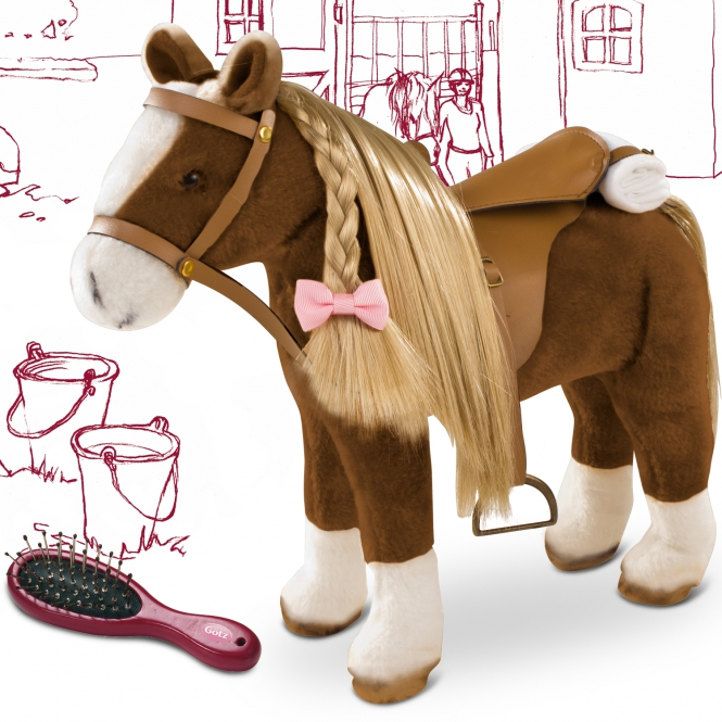 Pony to brush and style Brown Beauty
