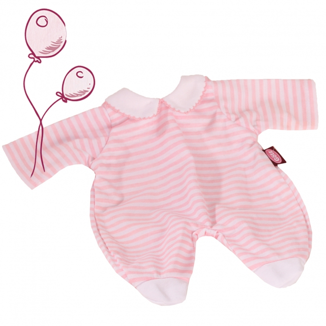 Romper suit Pink Stripes size S