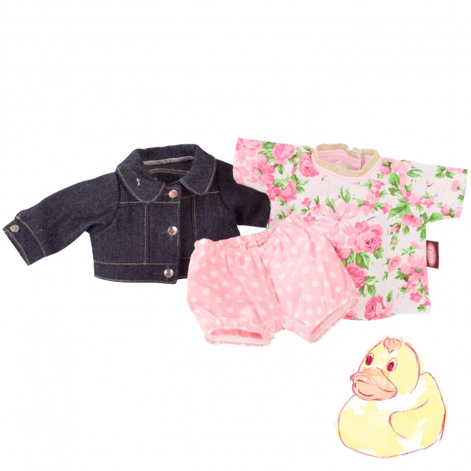 Baby combo Roses & Spots size S