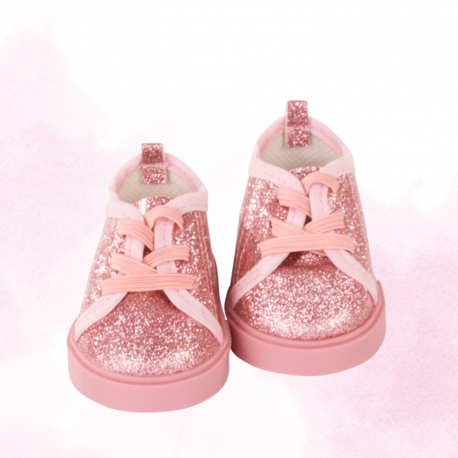 Glitzersneaker Lollipop Gr. M/XL