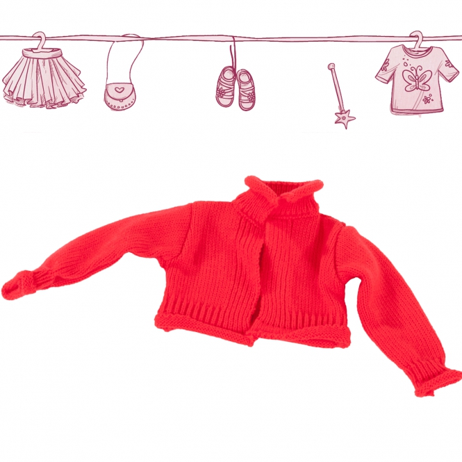 Knitted jacket Redness size S/M/XL