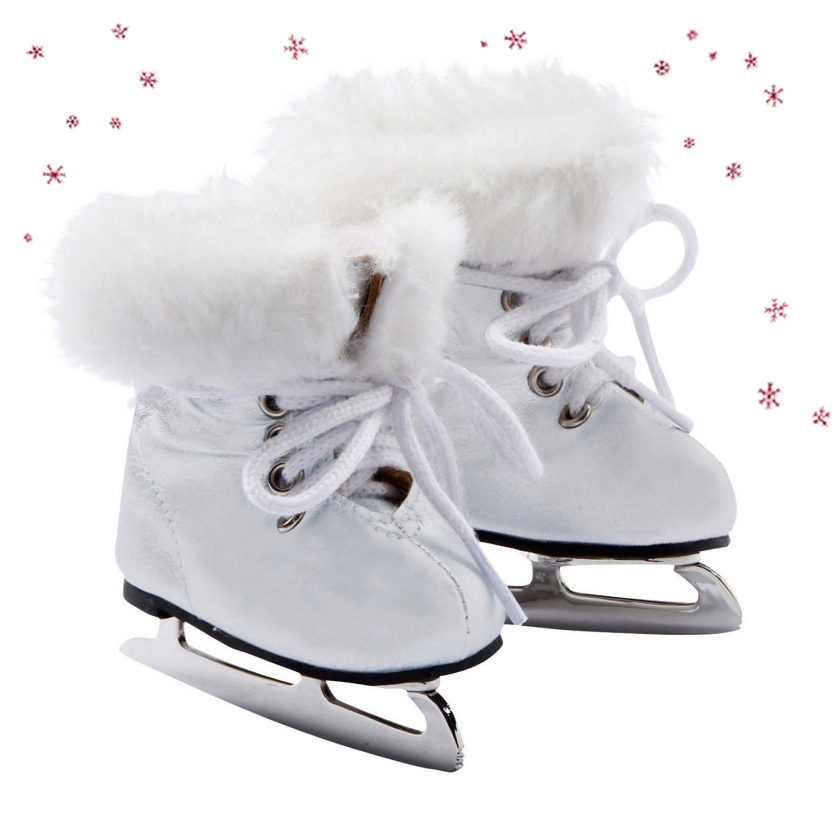 Ice skating boots On Ice size M/XL