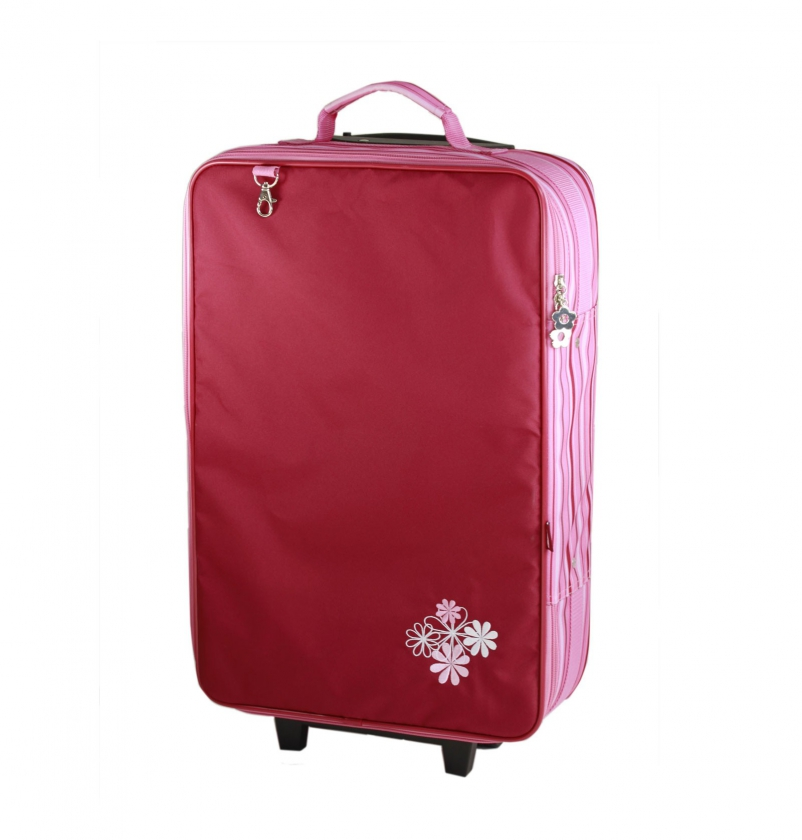 Travel case, burgundy