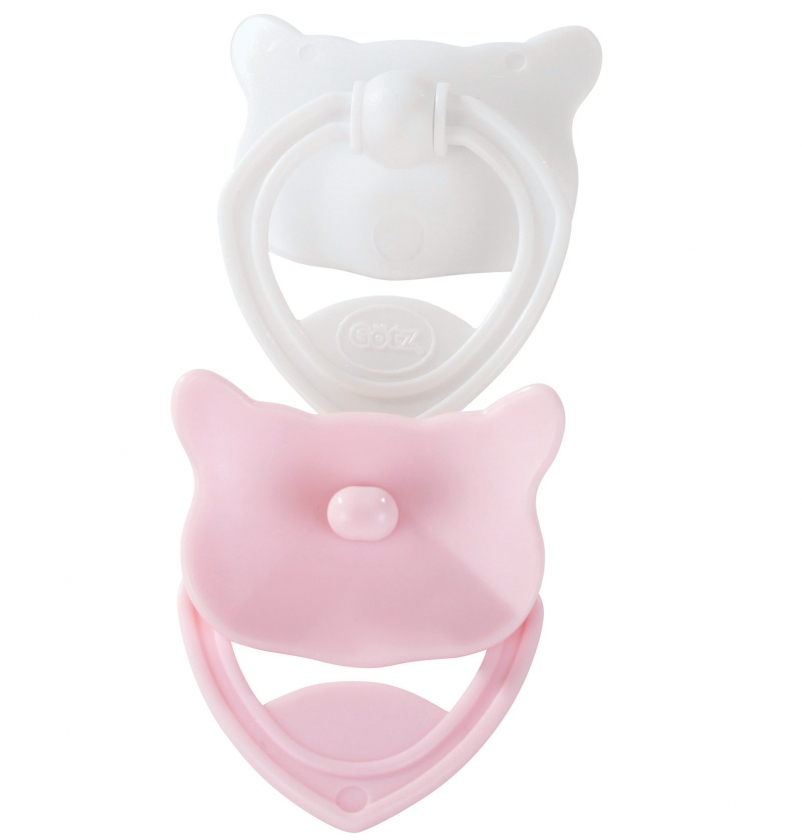Dummy set, pink/white