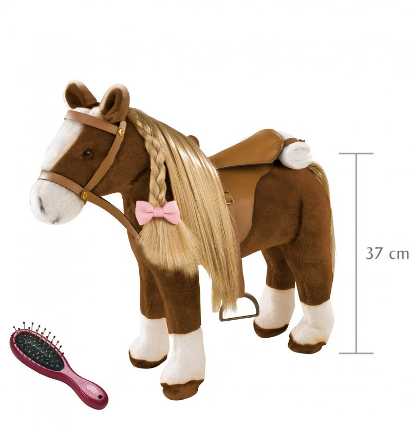 Pony to brush and style