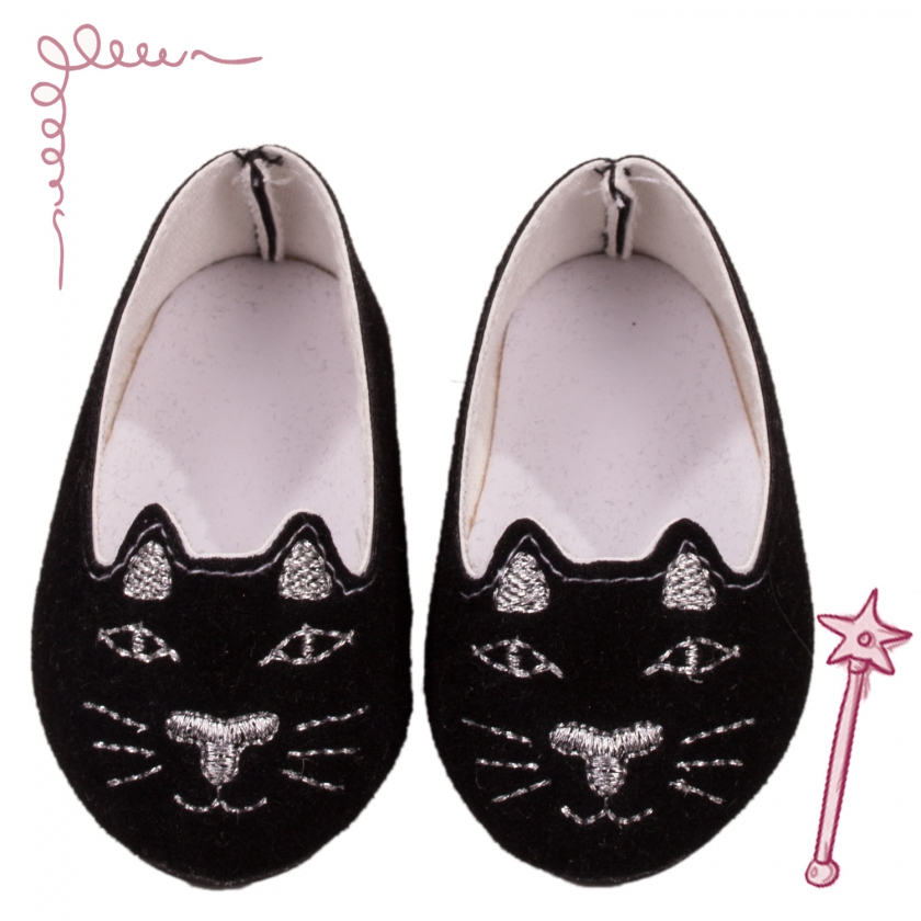 Ballerina shoes Black Cat size XL