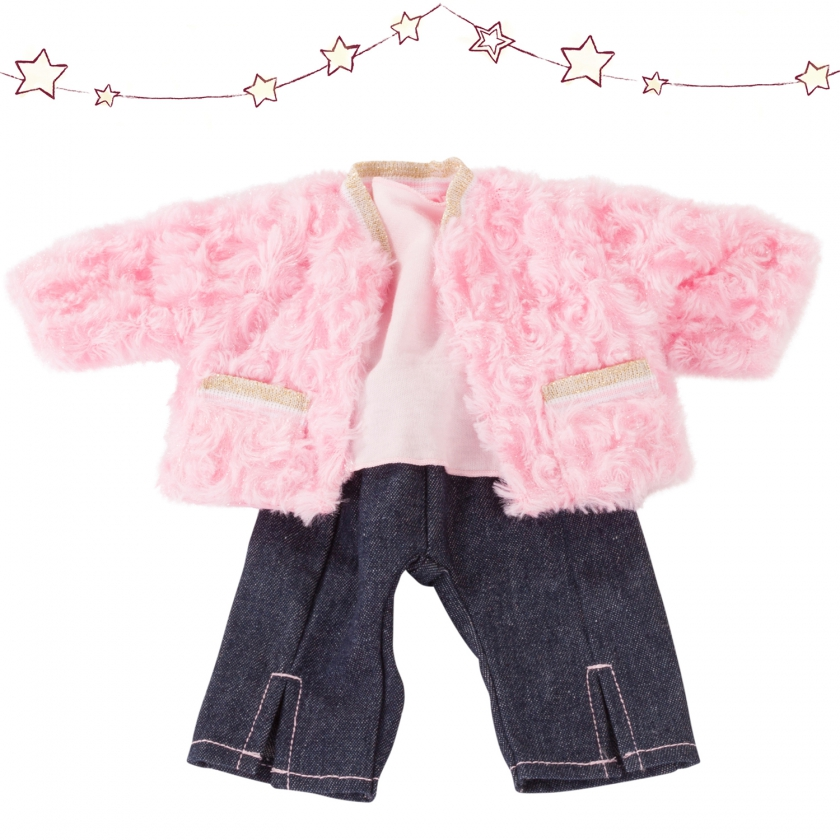 Baby combo Furry Pink size S