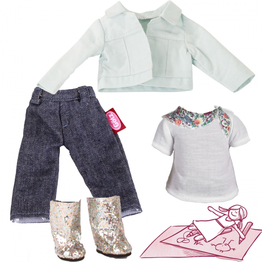 Set Denim & Glamour size XS