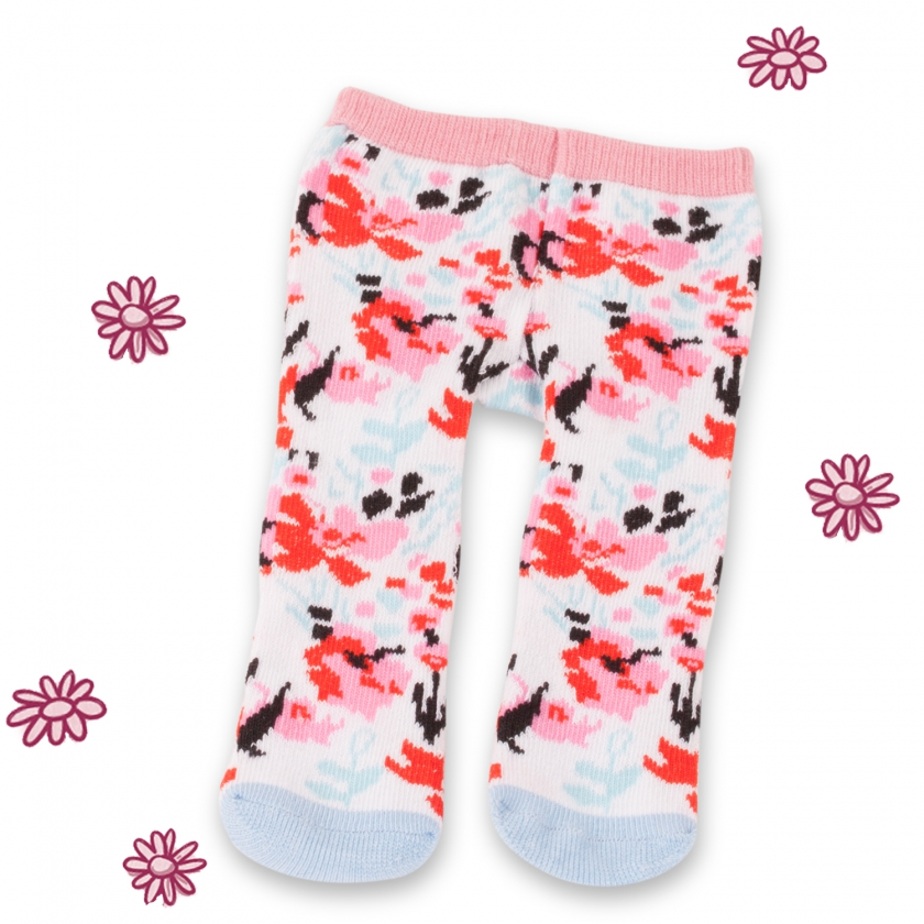 Strumpfhose Floweresque Gr. M/XL
