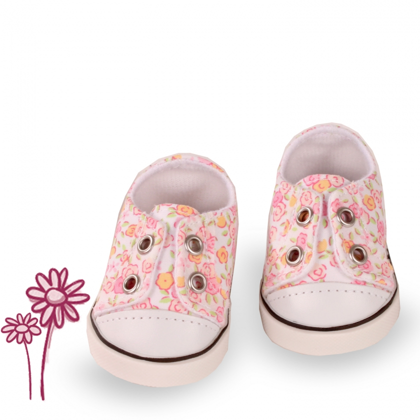 Trainers Little Flowers size M/XL