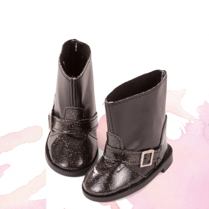 Boots with glitter size M/XL