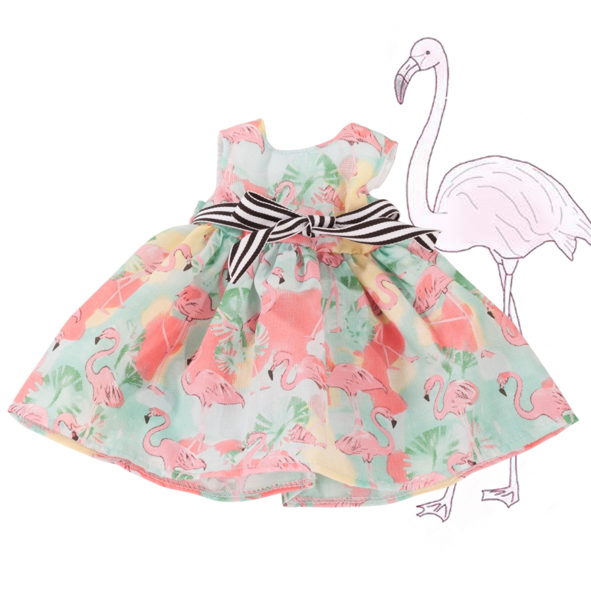 Kleid Flamingo Gr. XL