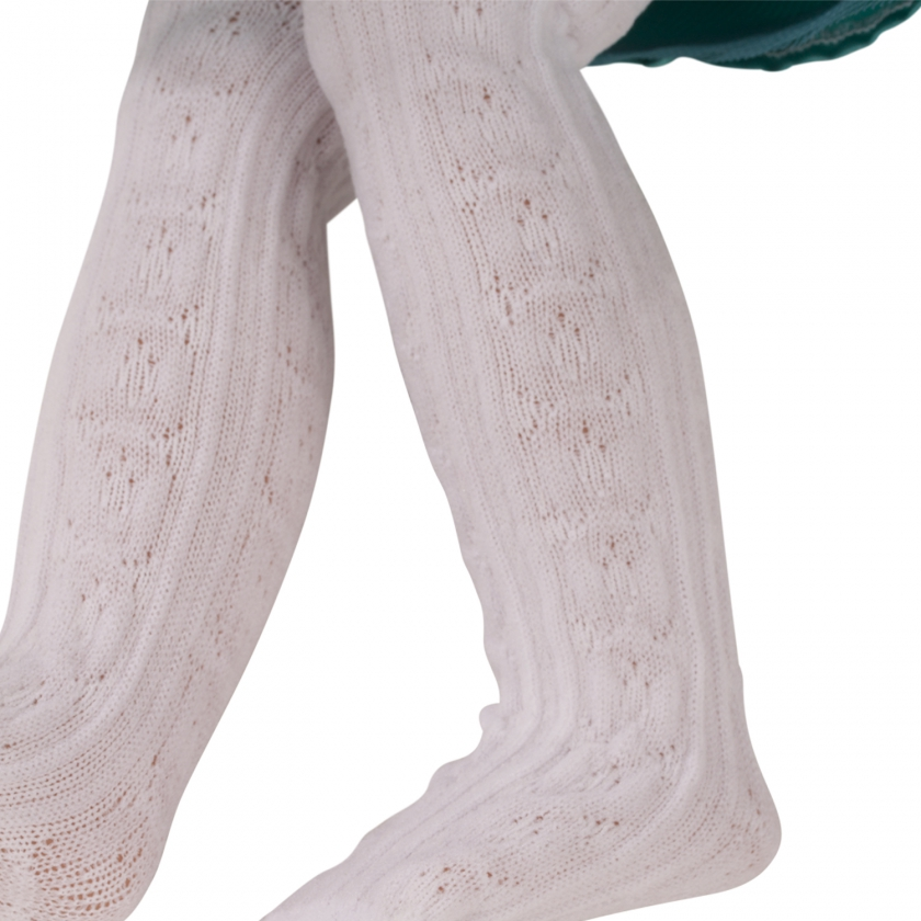 Tights Classic White size M/XL